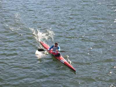 Besathlon 2007 - épreuve de kayak