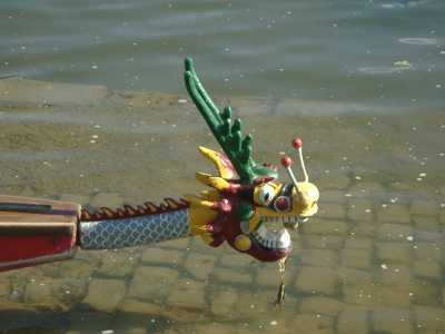 Dragon Boat - tête du Dragon