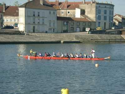 Dragon Boat - challenge à Gray juin 2006