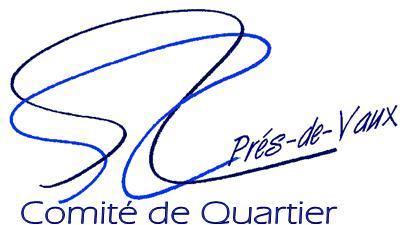 Logo Comité de Quartier des Prés de Vaux
