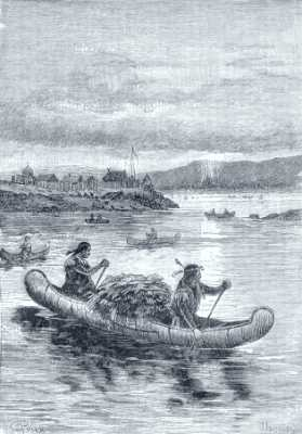 Les premières embarcations
